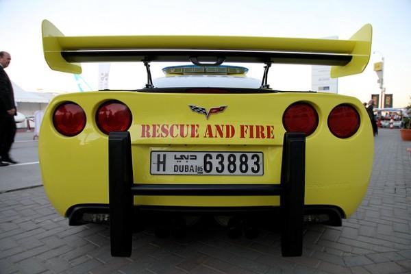 Суперкар Chevrolet Corvette Stingray установил рекорд скорости среди пожарных автомобилей 3