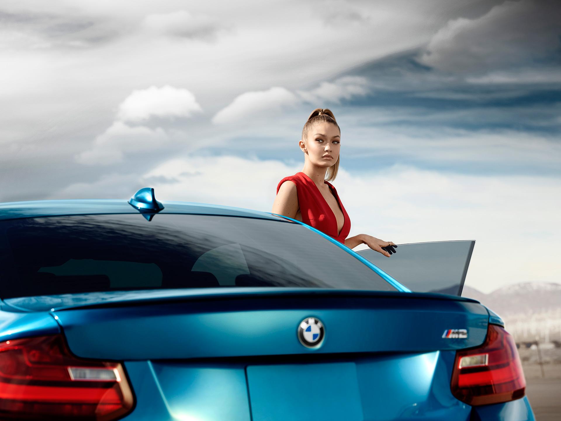 Лицом марки BMW стала американская фотомодель 1