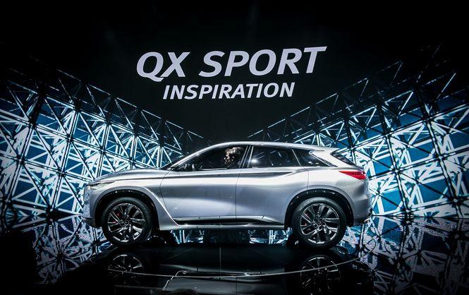 Компания Infiniti презентовала концептуальный кроссовер QX Sport Inspiration 1