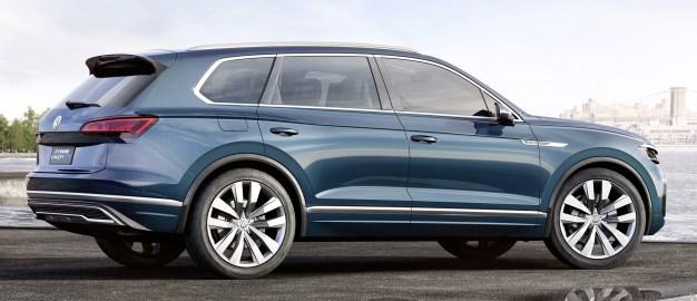 Компания Volkswagen показала вероятного правопреемника модели Touareg 2