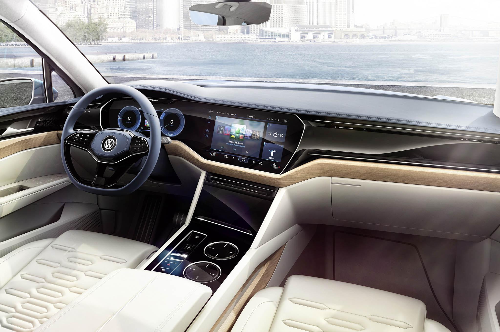 Компания Volkswagen показала вероятного правопреемника модели Touareg 3