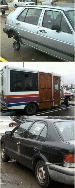 Подборка самых неудачных примеров ремонта авто 1