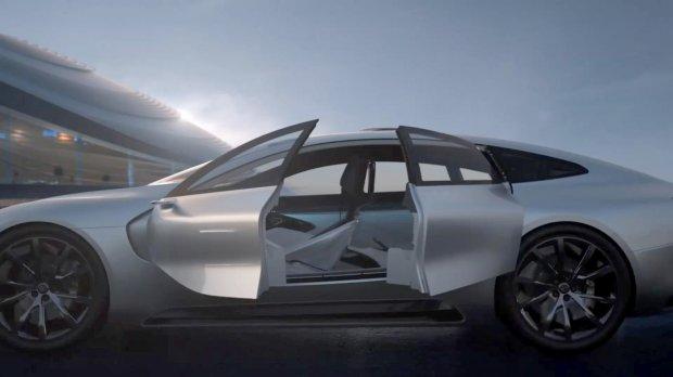 Новый электрокар с системой автопилот презентовали в Поднебесной 2