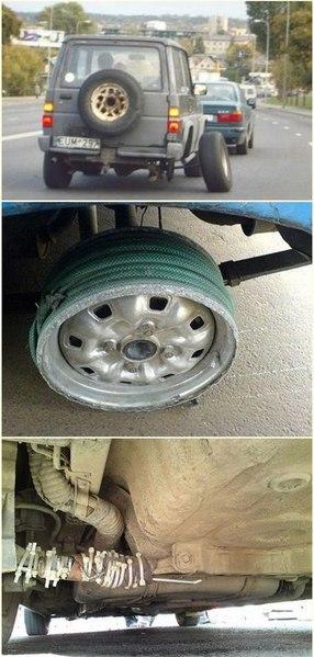 Подборка самых неудачных примеров ремонта авто 2