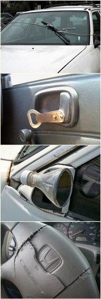 Подборка самых неудачных примеров ремонта авто 3