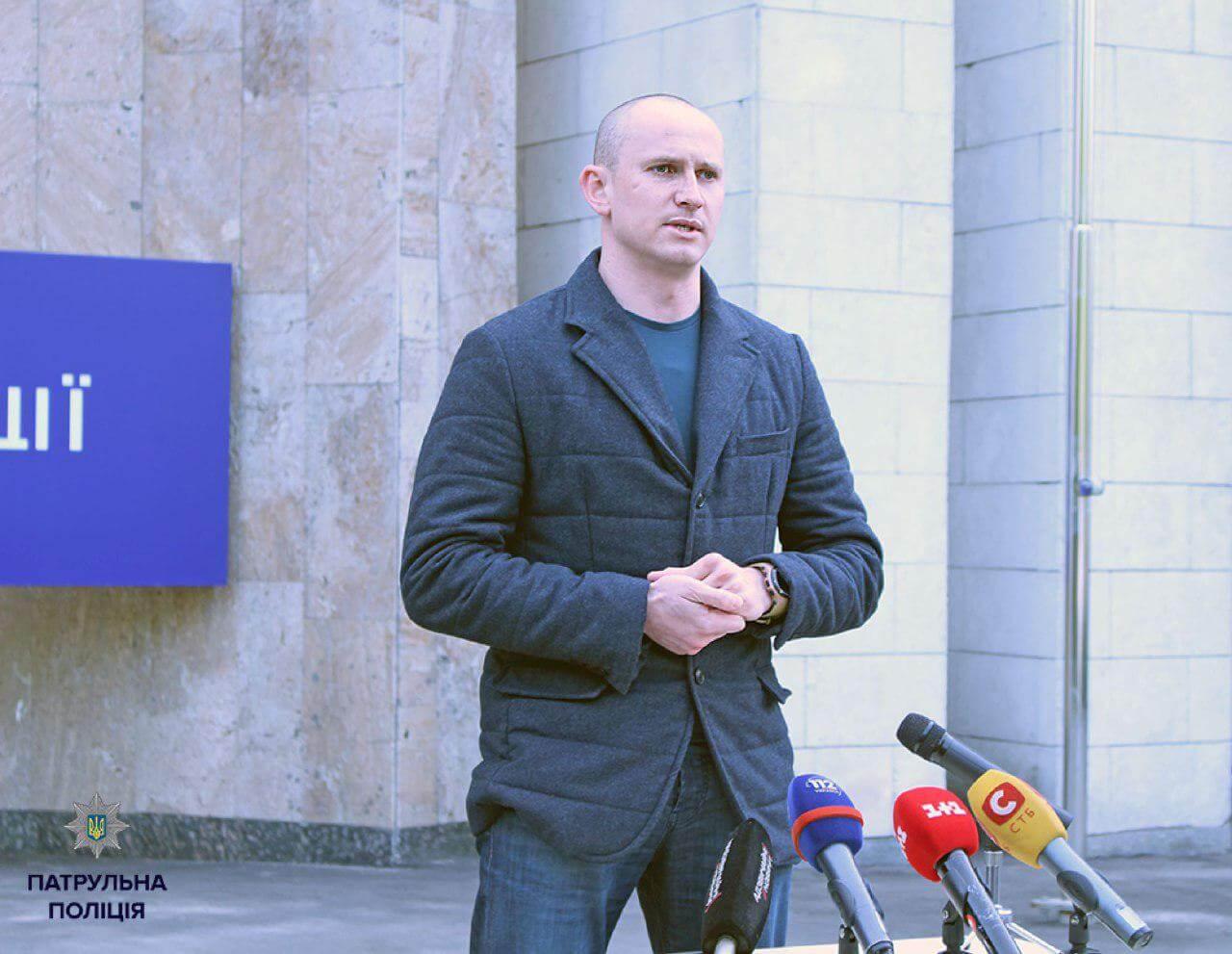 Глава Департамента патрульной полиции прокомментировал наезд на пешехода полицейским авто 1