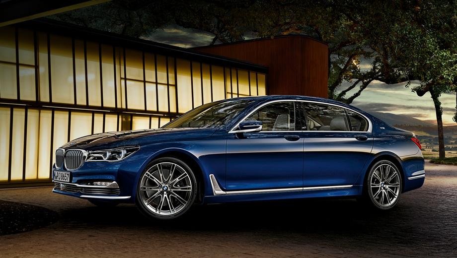 В честь 100-летнего юбилея, покупателям седанов BMW 7-й серии будут дарить ручки 1