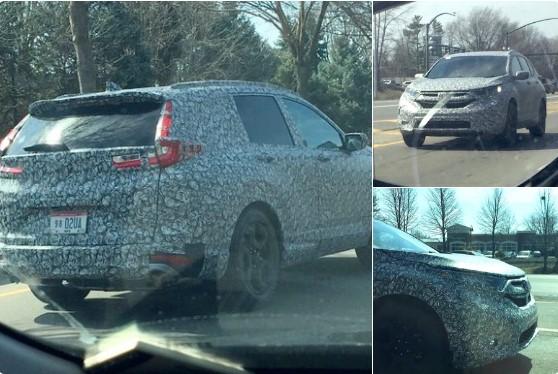 Фотошпионы рассекретили стилистику новой Honda CR-V 1