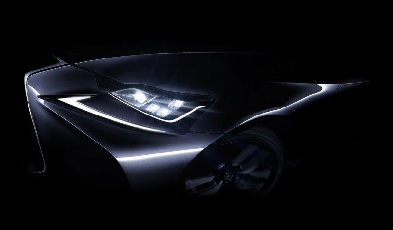 В скором времени будет презентован обновленный седан Lexus IS 1