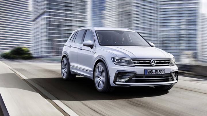 VW Tiguan признан лучшим полноприводным автомобилем 2016 года 1