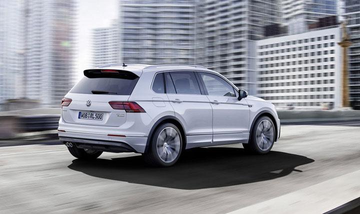 VW Tiguan признан лучшим полноприводным автомобилем 2016 года 2