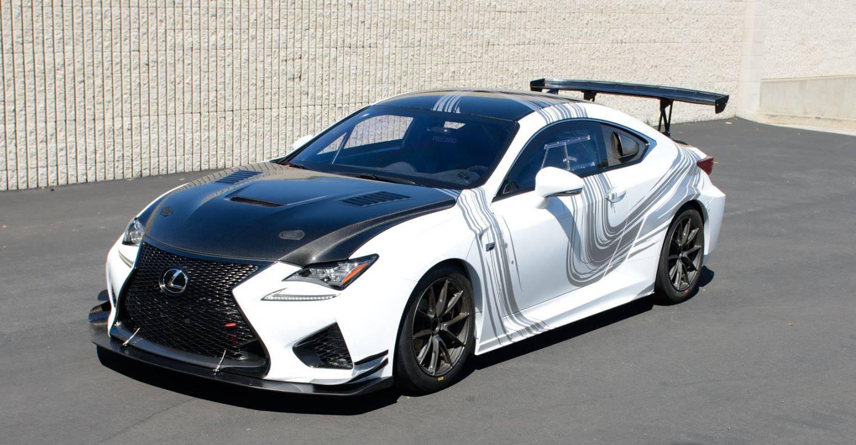 Компания Lexus раскрыла подробности о концепте RC F GT 1