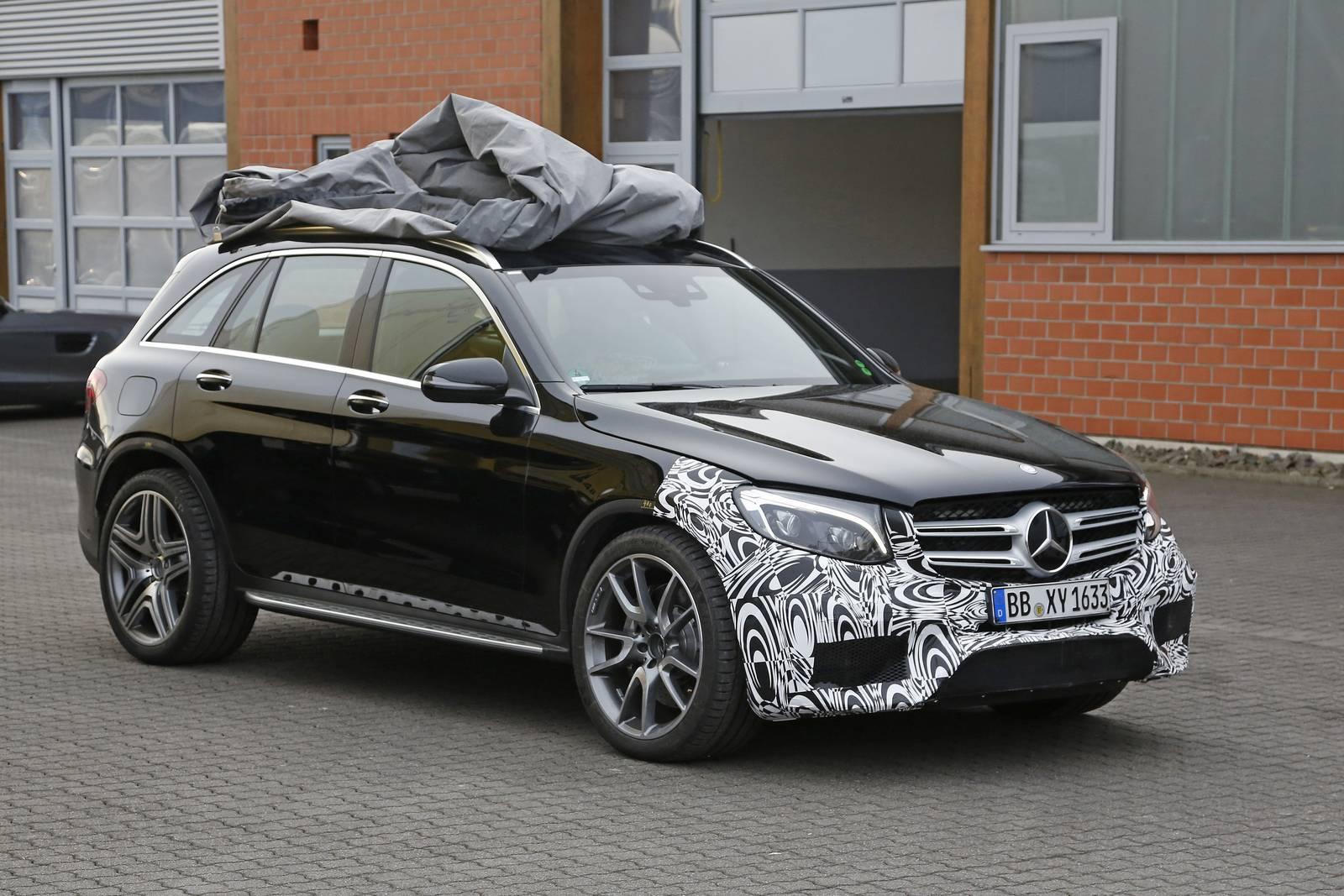 Новый Mercedes-Benz AMG GLC 63 засекли на тестах в Европе 1