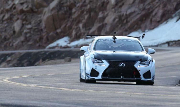 Компания Lexus раскрыла подробности о концепте RC F GT 2