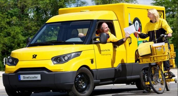 Немецкая почтовая служба будет выпускать собственные электромобили 2