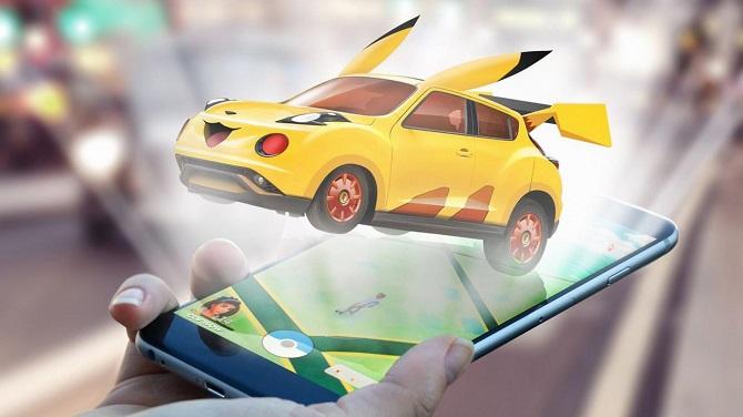 Если бы автомобили были «Pokemon Gо» 1