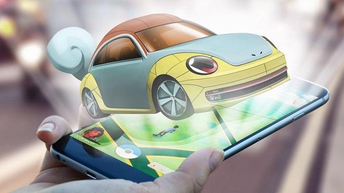 Если бы автомобили были «Pokemon Gо» 3