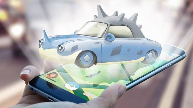 Если бы автомобили были «Pokemon Gо» 4