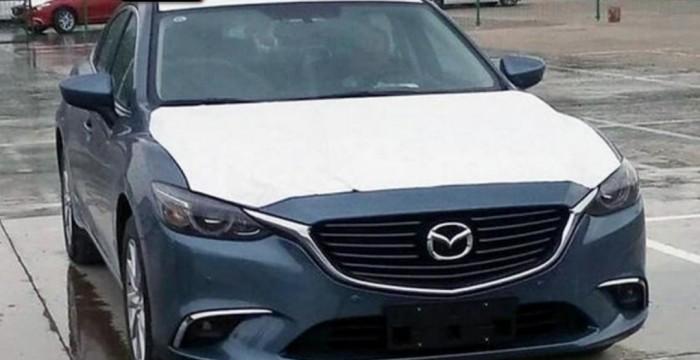 Обновленную Mazda 6 «рассекретили» во время дорожных испытаний 1