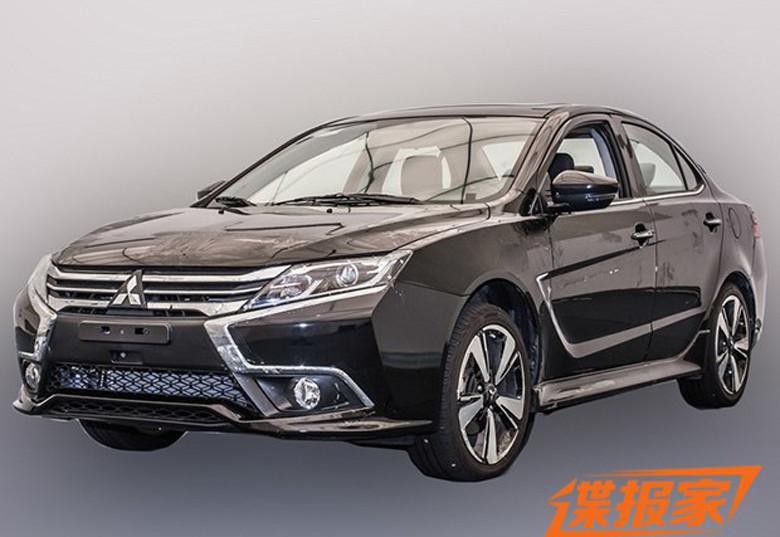 Mitsubishi рассекретил внешность нового Lancer 1