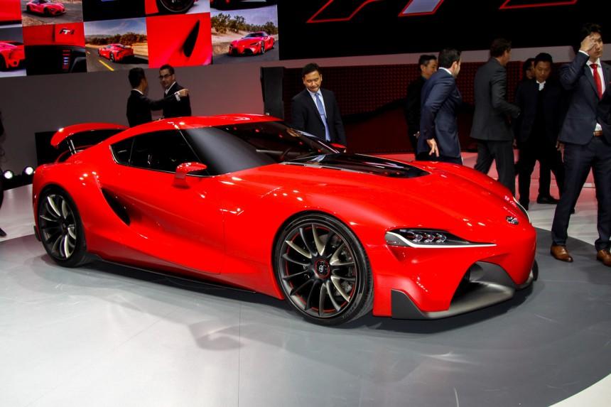 Новая модель Toyota получит мотор от Lexus 1