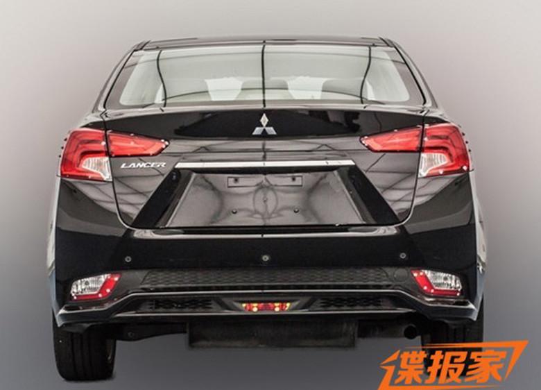 Mitsubishi рассекретил внешность нового Lancer 2