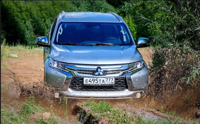 «Проверка бездорожьем»: тест-драйв нового Mitsubishi Pajero 1