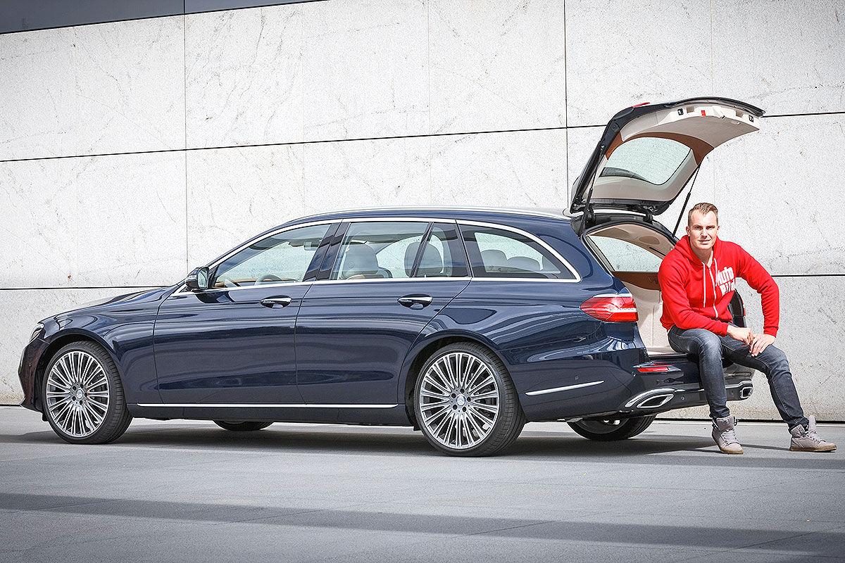 «Красивый снаружи, маленький внутри»: тест-драйв Mercedes E-class T-Model 5