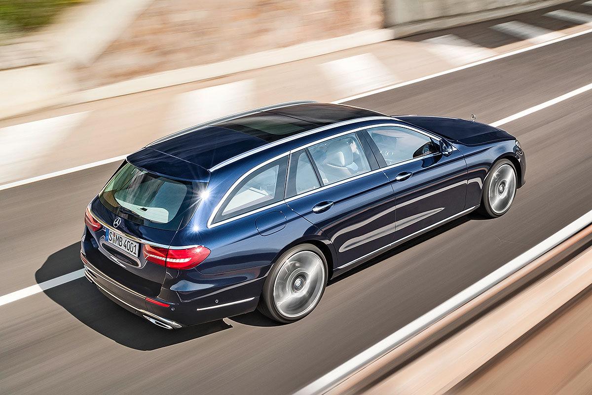 «Красивый снаружи, маленький внутри»: тест-драйв Mercedes E-class T-Model 6