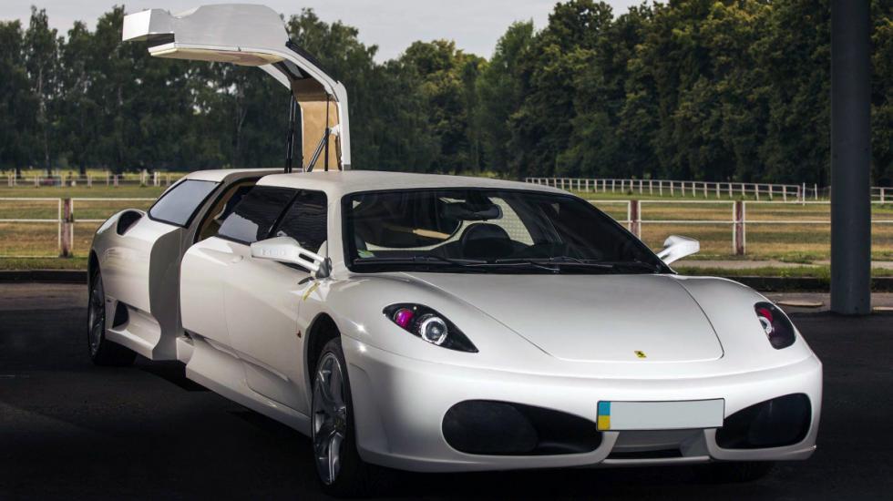Поддельный лимузин Ferrari с «украинской пропиской засветился» в Италии 1