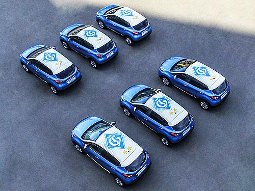 Компания Renault создала лимитированную серию автомобилей для футбольного клуба «Динамо» 1