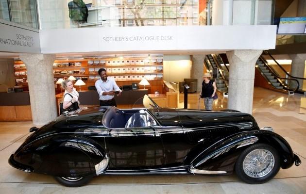 Раритетный Alfa Romeo 1939 года выставили на торги 2