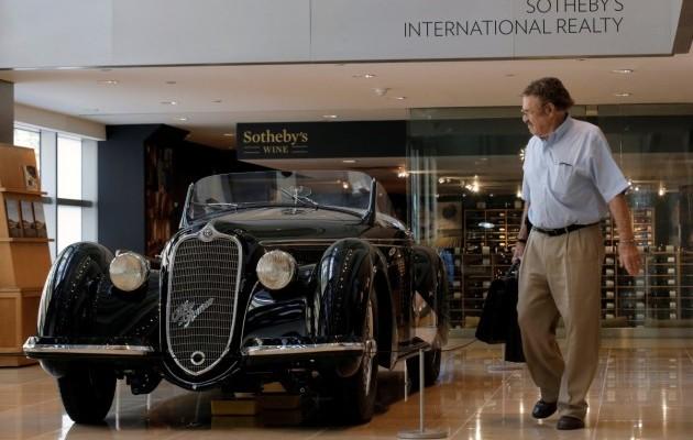 Раритетный Alfa Romeo 1939 года выставили на торги 1