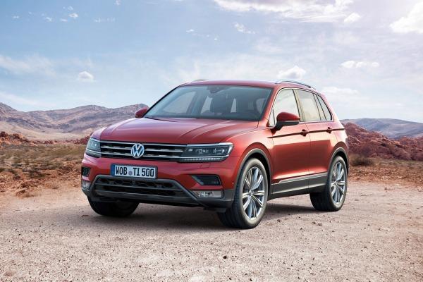 Volkswagen Tiguan и Skoda Kodiaq «разделят» одну платформу 1