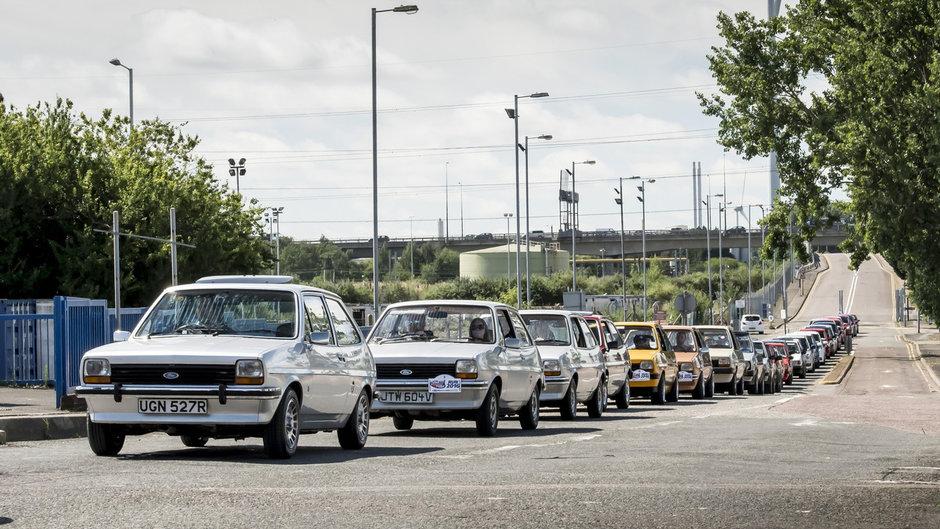 Модели Ford Fiesta исполнилось 40 лет 1