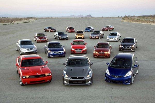 Самые востребованные автомобили в Европе и США 1