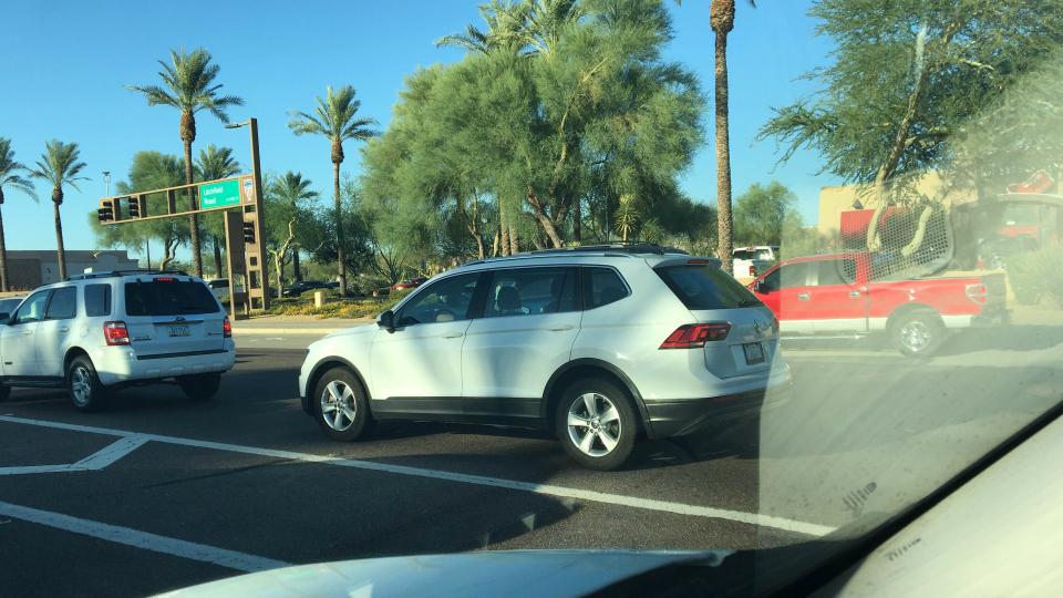 Удлиненный Volkswagen Tiguan уже на трассах 2