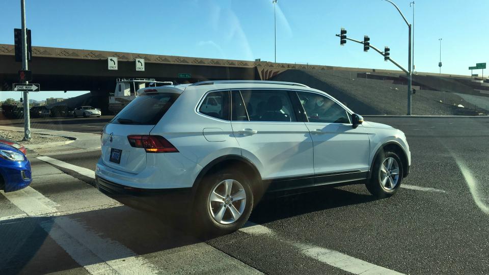 Удлиненный Volkswagen Tiguan уже на трассах 1