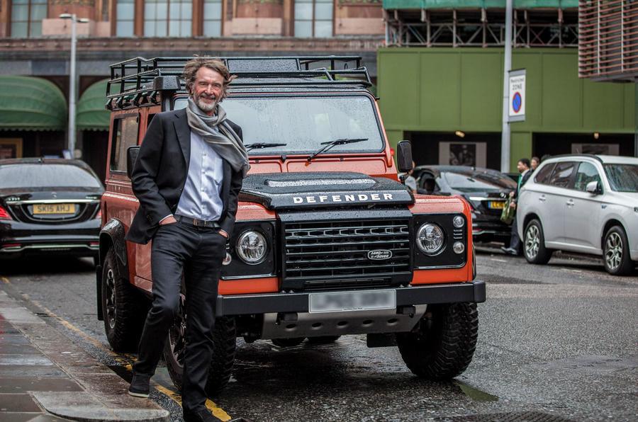 Старый Land Rover Defender «воскреснет» под новым именем 1