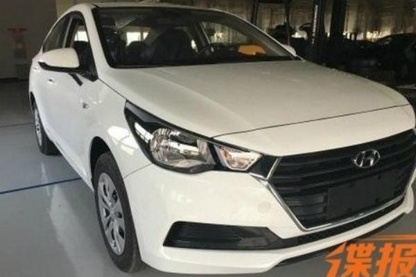 Опубликованы фотоснимки нового Hyundai Accent 1