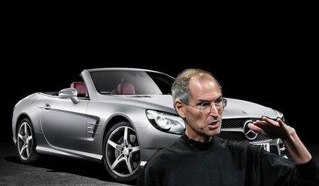 Автофакт: Стив Джобс законно ездил на автомобиле без номеров 1