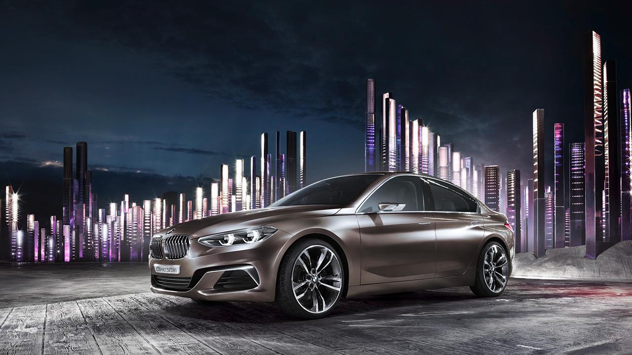 В модельном ряду BMW появится седан 1-й серии 1