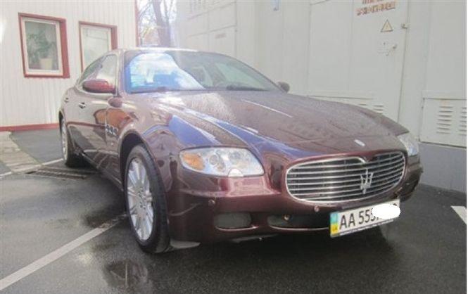 Maserati «обанкротившегося банка Надра отдали за копейки» 1