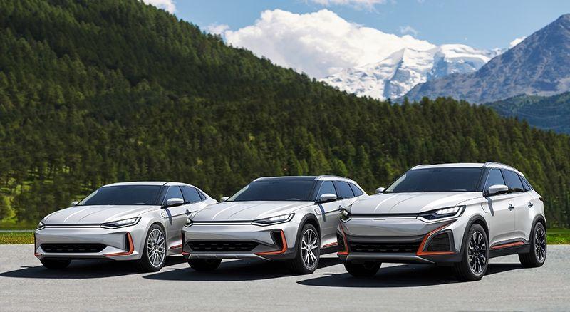 В Китае презентуют модели, «похожие на Tesla» 1