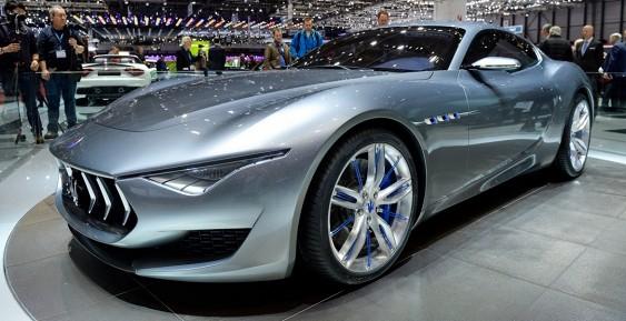 Maserati презентует электрокар Alfieri 1