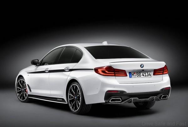 BMW представила М-аксессуары для новой «пятерки» 2