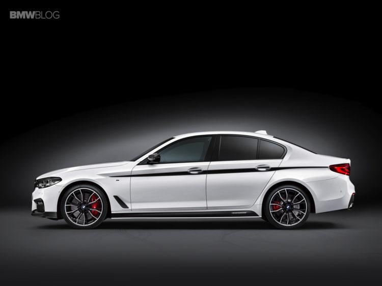 BMW представила М-аксессуары для новой «пятерки» 1