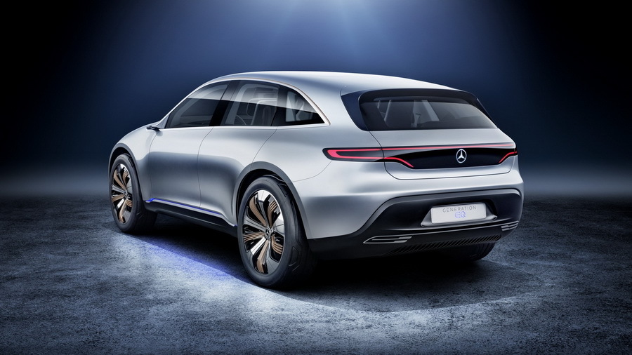 Daimler потратит 11 миллиардов долларов на электромобили Mercedes-EQ 2