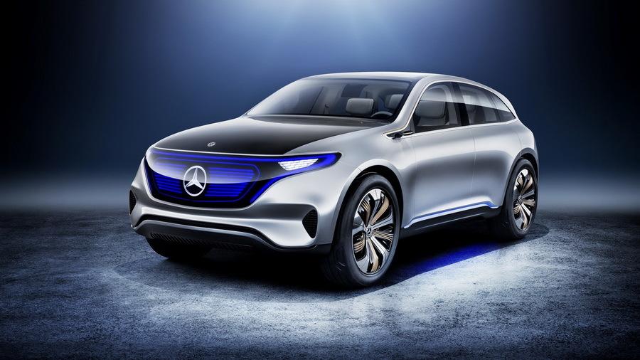 Daimler потратит 11 миллиардов долларов на электромобили Mercedes-EQ 1