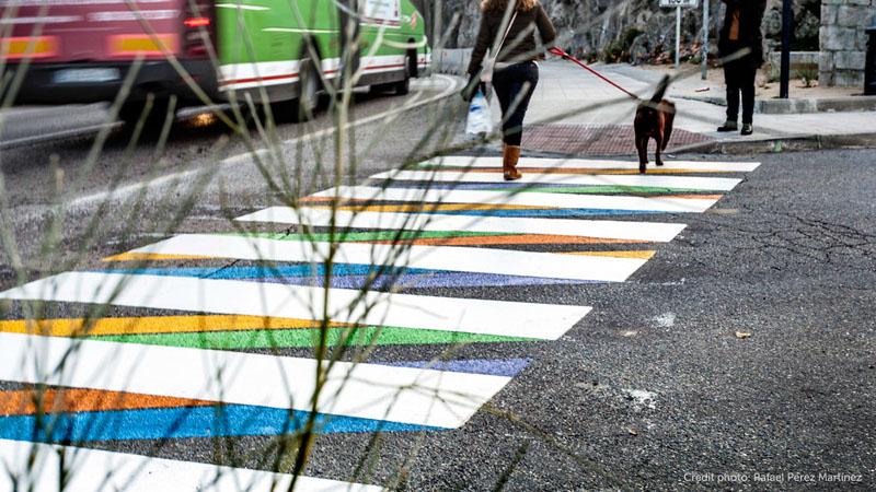 Художник превратил пешеходные переходы в произведения искусства 2